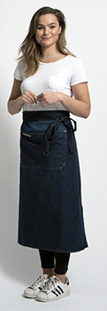 Stalwart Quality Long Denim Apron