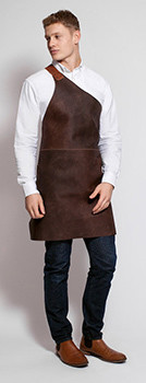 Stalwart Quality Leather Butcher Apron