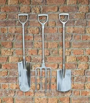 Aluminium Garden Tool Wall Hanging Set