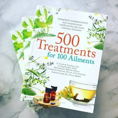 PRE-ORDER: 500 Treatments for 100 Ailments book co-authored by Stephanie  Caley