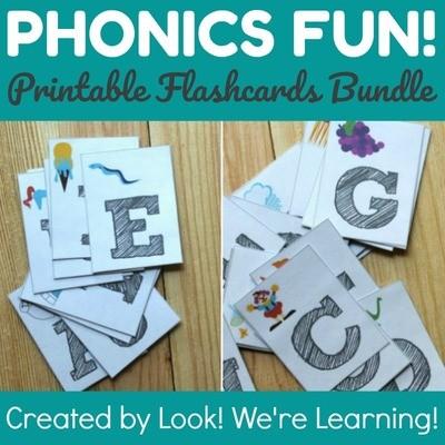 Phonics Fun: Phonics Flashcard Bundle