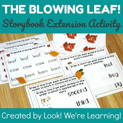 The Blowing Leaf Storybook Extension Activity