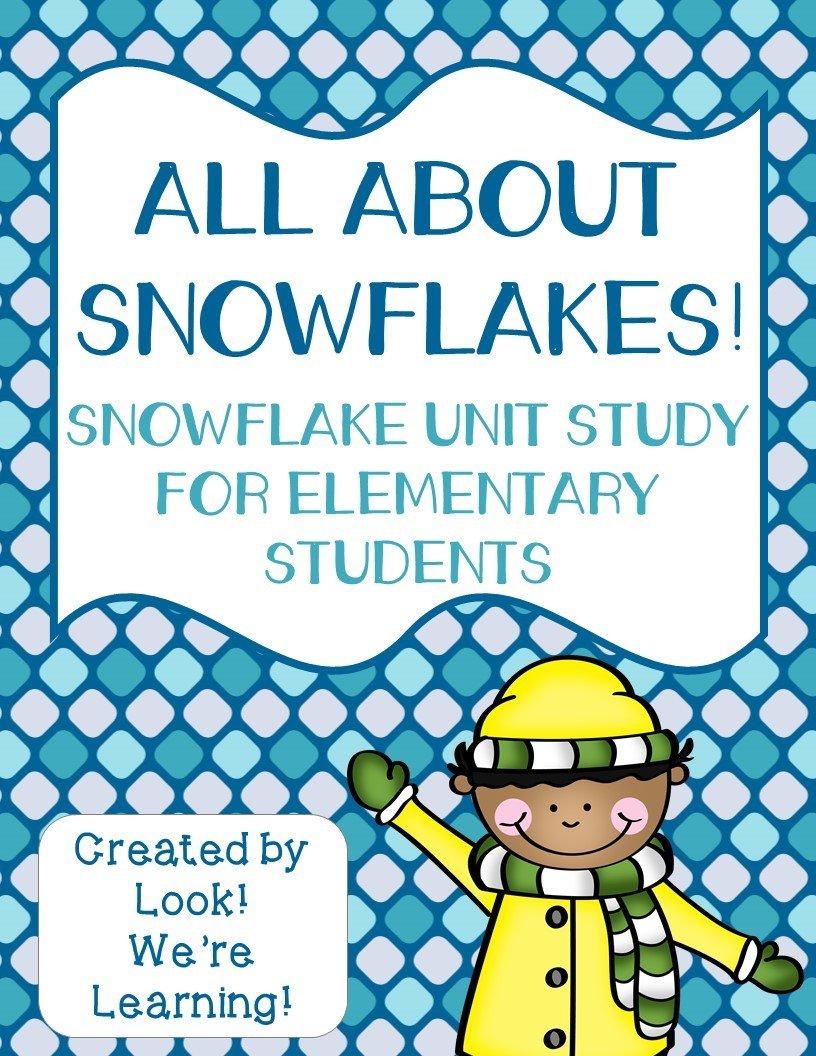 Snowflakes Printable Unit Study