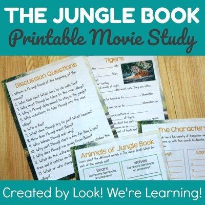 The Jungle Book Movie Study