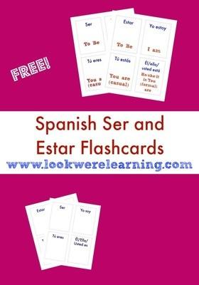 Spanish Ser and Estar Flashcards