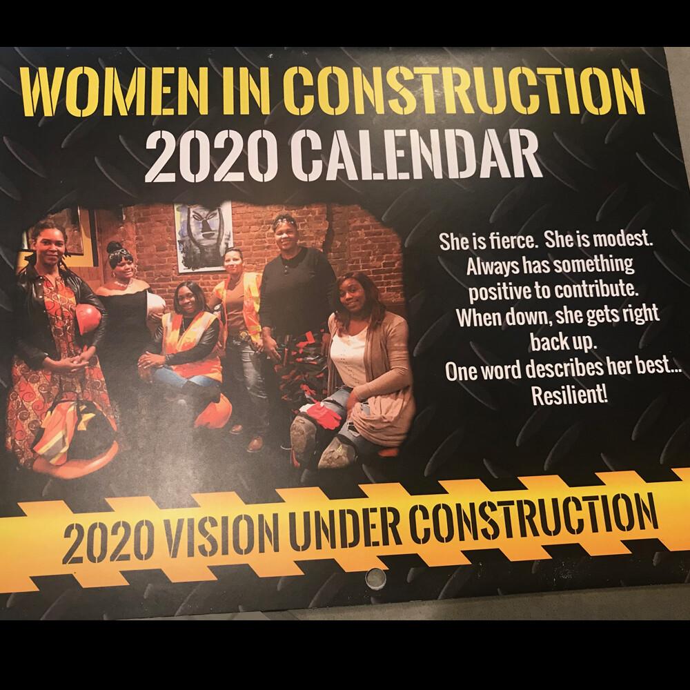 2020 Calendar Women in Construction