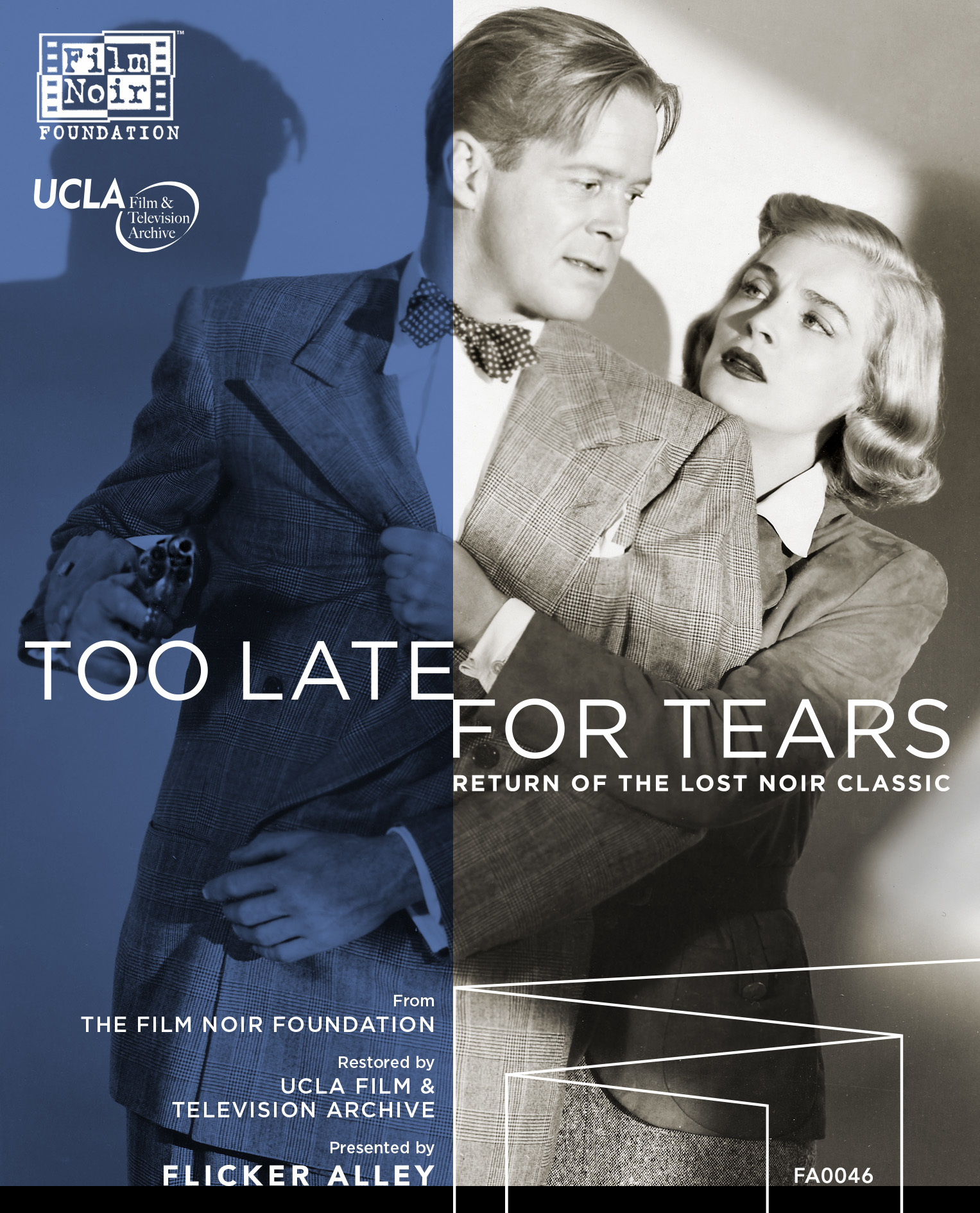 too late for tears blu ray dvd combo shop flicker alley too late for tears fa0046