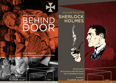 San Francisco Film Festival Bundle (Sherlock Holmes & Behind The Door)