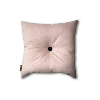 Sart rosa mini-pude med knap