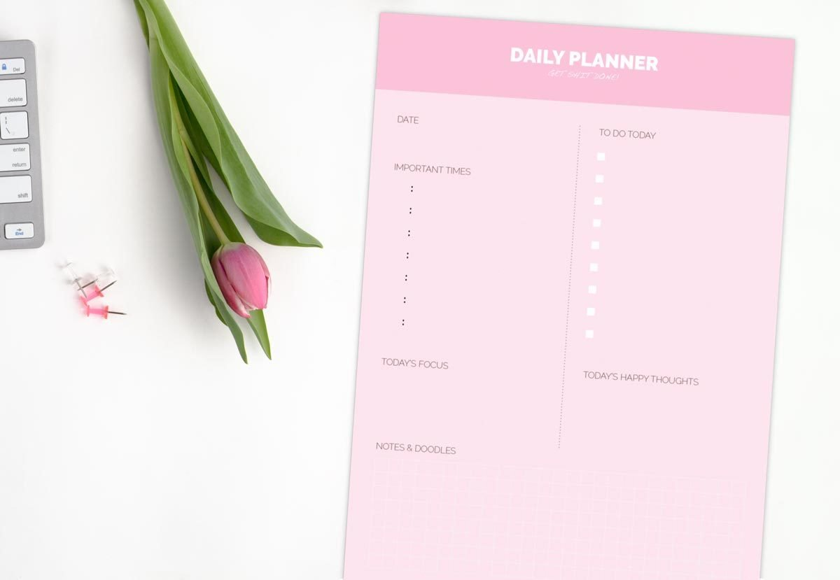 Daily Planner 2004