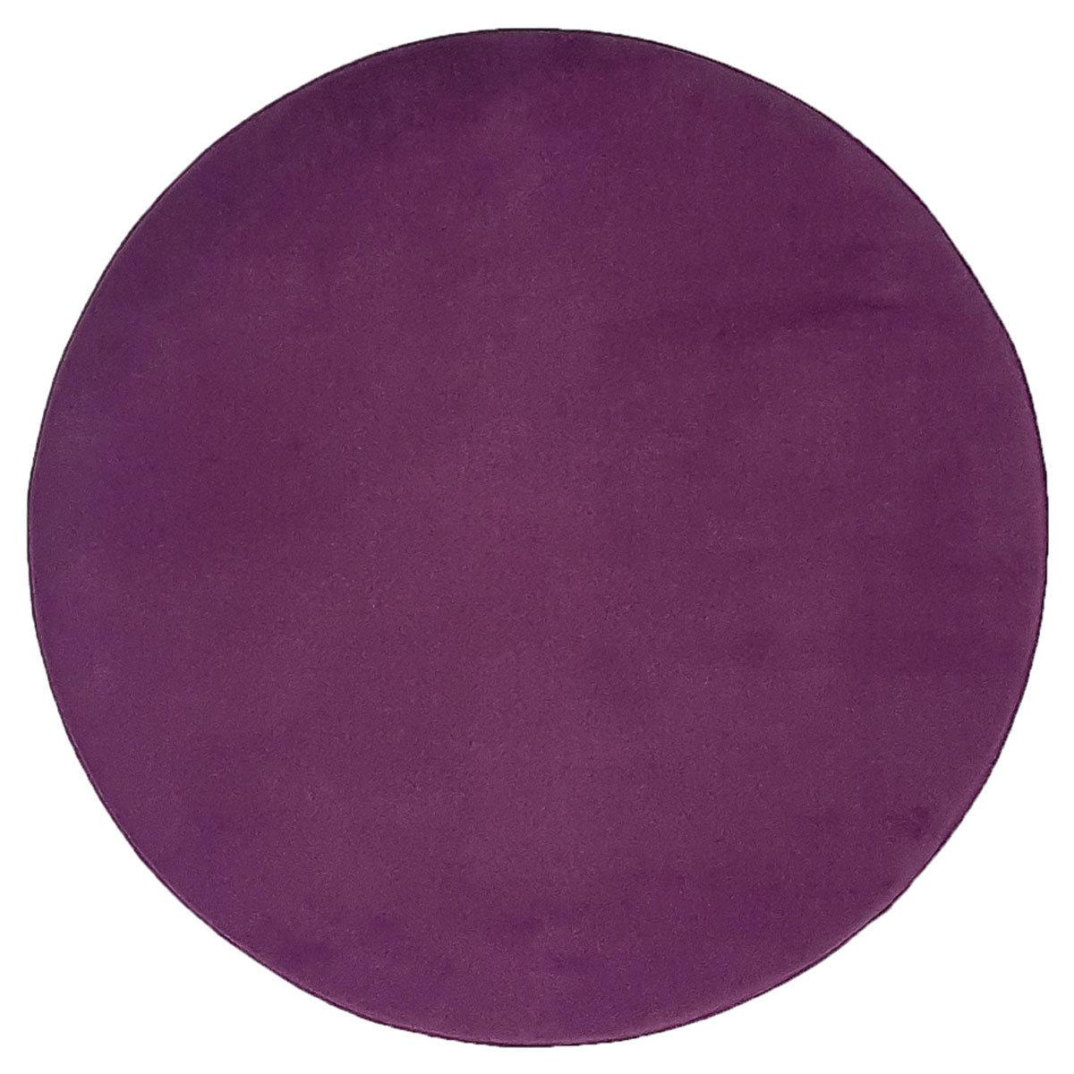 Plain obo top - Mørk blomme 4281