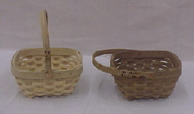 Fruit Basket - 9x8x4.5, Drop Handle