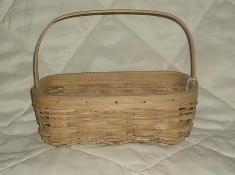 Apple Basket - 13x8.5x5, Over Handle