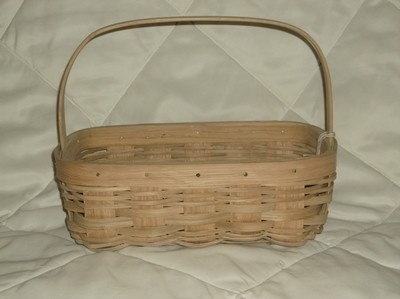 Apple Basket - 13x8.5x5, Over Handle