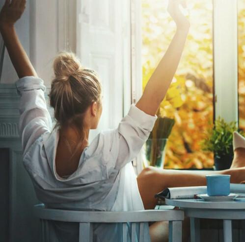 Утренний настрой на исполнение желания 00026