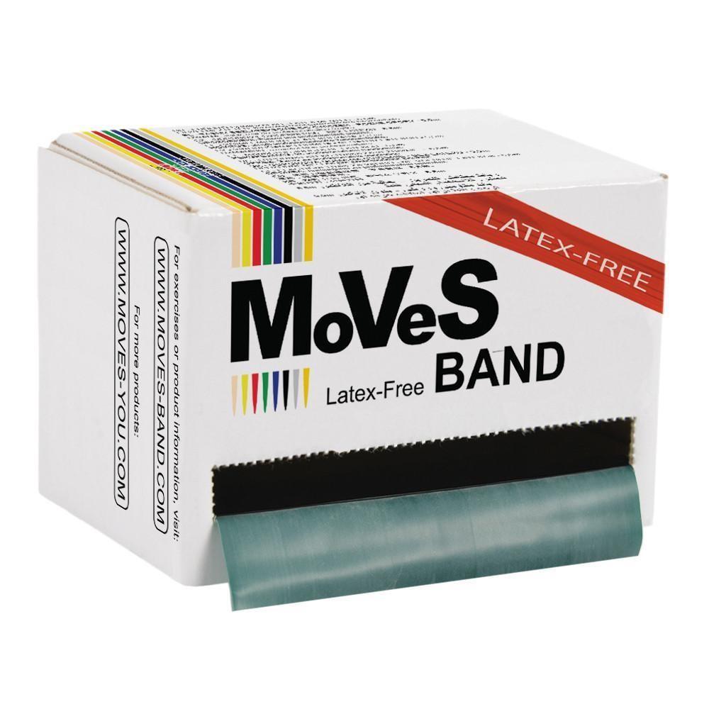 MoVeS Band Grön 45.5m hård LATEXFRI
