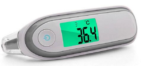 Infraröd Termometer , Öra & Panna