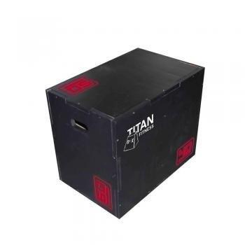 Titan Plyometric Box 40x50x60 7350350
