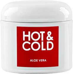 Hot & Cold Kräm , Liniment m Aloe Vera