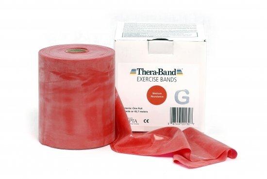 Thera-Band Röd 45.5m medium