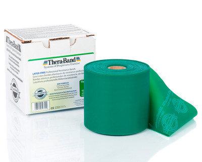 Thera-Band Latexfritt 22m grön