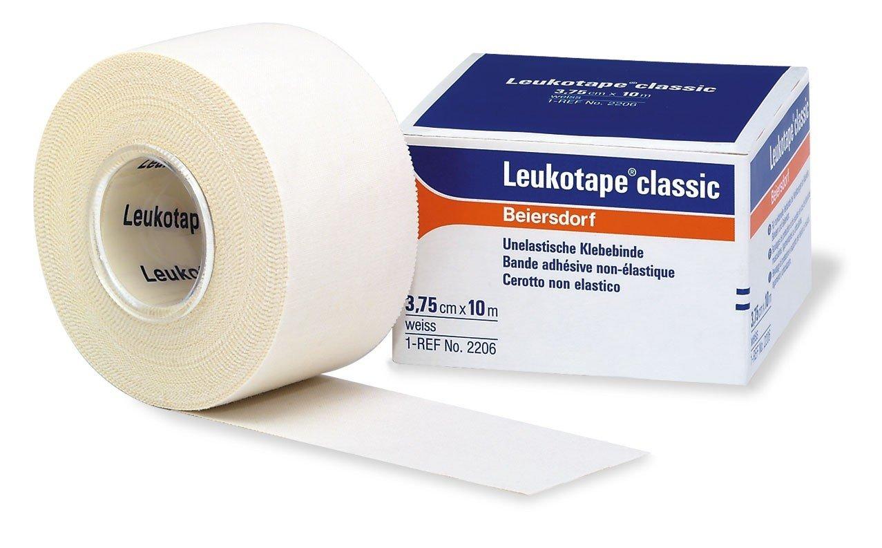 Leukotape Classic  3,75cm x 10 m, förpackning med 12 st 4247109