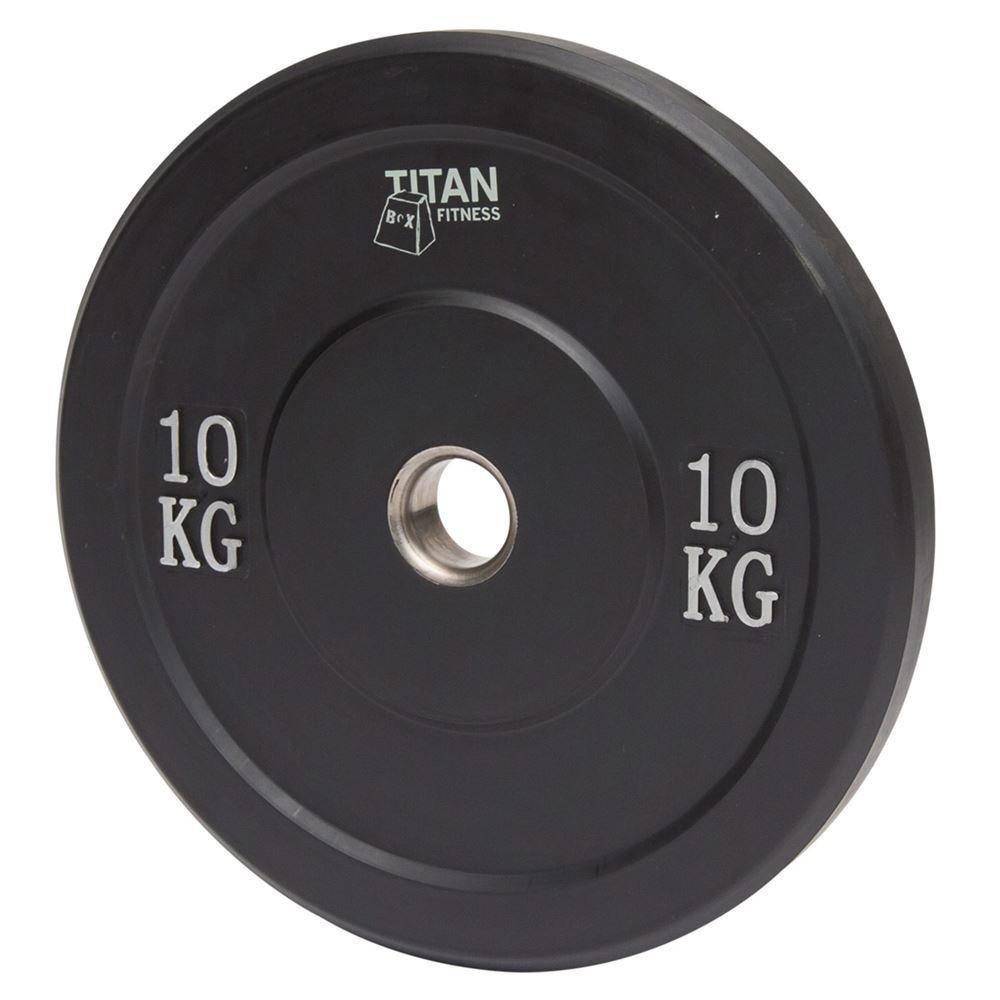 Titan Rubber Bumper Plate 10 kg
