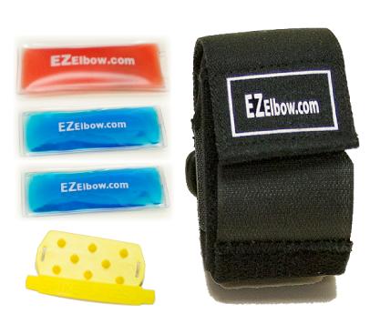 Tennis-/Golfarmbåge - EZ Elbow Compression Strap Kit