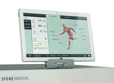 Storz Touchscreen Masterpuls Ultra till Stötvåg