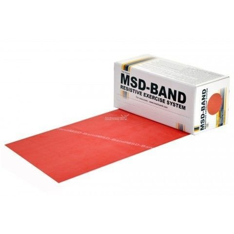 MSD Band Röd 5.5m, Medium 5804503