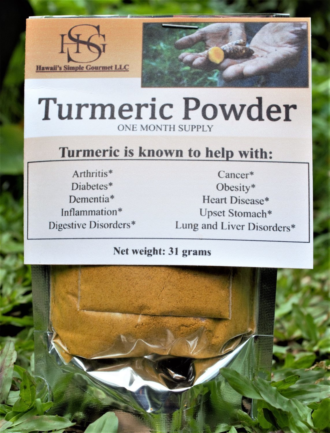 Turmeric Powder - One Month Supply