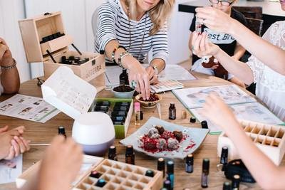 Essential Oil Classes for non- toxic living
