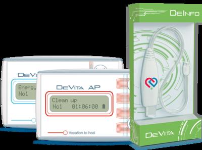 Set DeVita Ap + DeVita Ritm + DeInfo Programmer