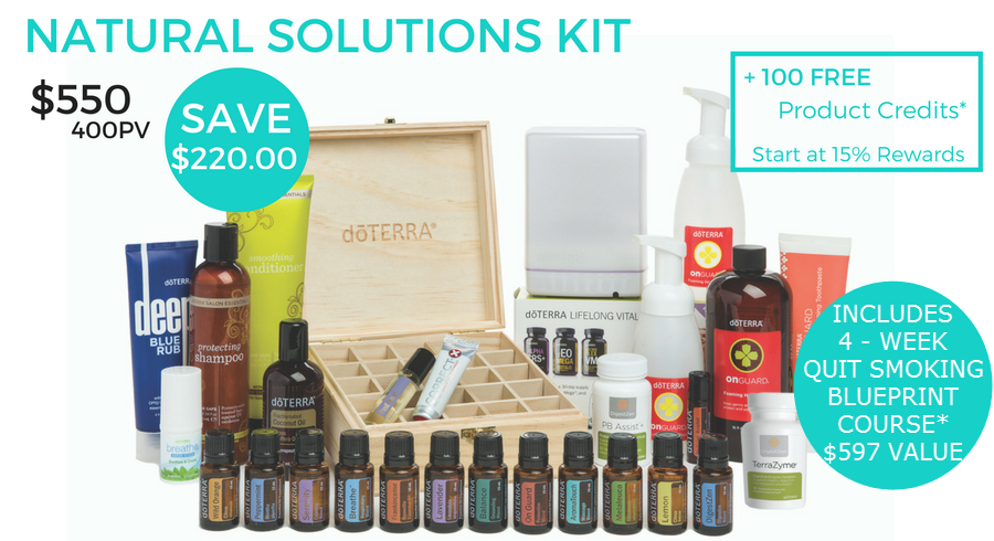 Natural Solutions Kit from dōTERRA 00001