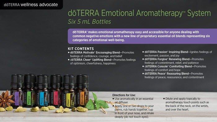 Emotional Aromatherapy Diffused