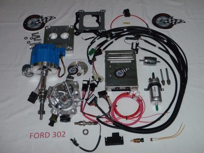 Ford parts complete tbi fuel injection kit for ford 302 50l publicscrutiny Image collections