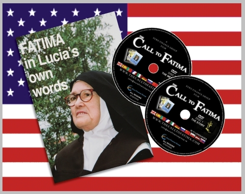 "Fatima in Lucia's own words + 2 All Region DVDs ""The Call to Fatima"" (Special ENGLISH edition)"