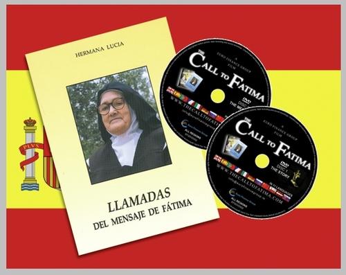 """""""Llamadas del Mensaje de Fatima"""" + 2 peliculas """"La Llamada de Fatima"""" SPANISH edition"""
