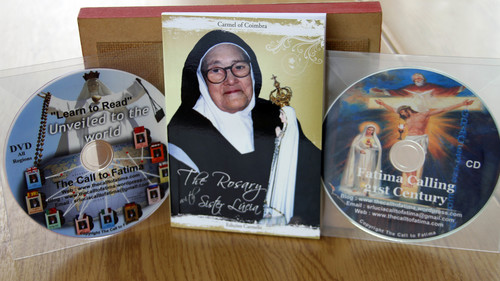 "Little Book ""Rosary with Sister Lucia"" +DVD ""Learn to Read"" + CD with Fr Michael Maher ""Fatima Calling 21st Century"""