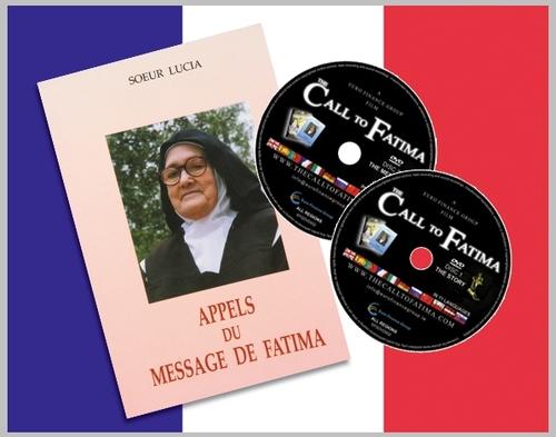 """""""Appels du Mensaje de Fatima"""" + 2 DVDs """"The Call to Fatima""""(FRENCH edition)"""