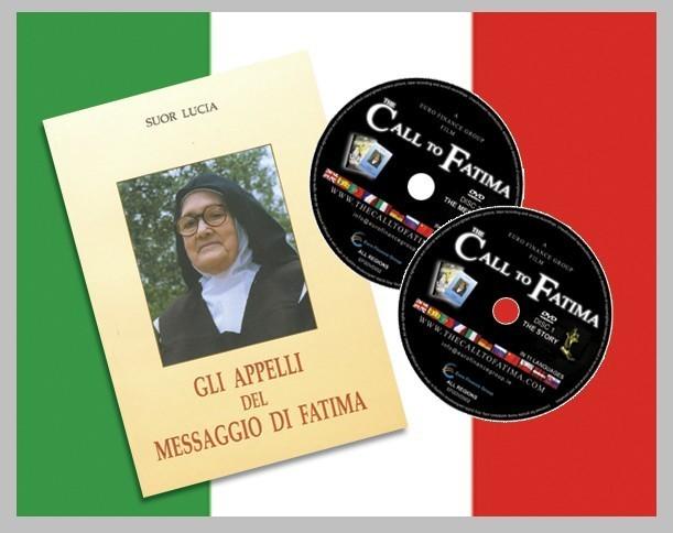 """GLI APPELLI DEL MESSAGGIO DI FATIMA + 2 DVDs """"L'Appello a Fatima"""" ITALIANO"""