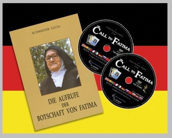 Die Aufrufe Der Botschaft Von Fatima + 2 DVDs (All regions) Deutch