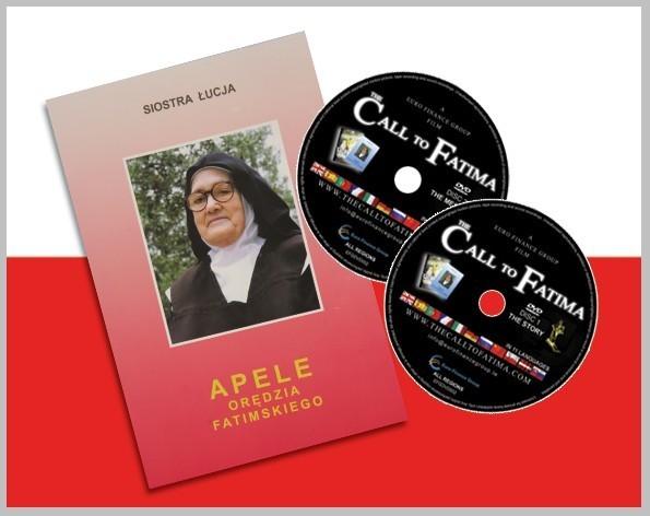 """Apele Orédzia Fatimskiego + 2 DVDs """"Apel z Fatimy"""""""