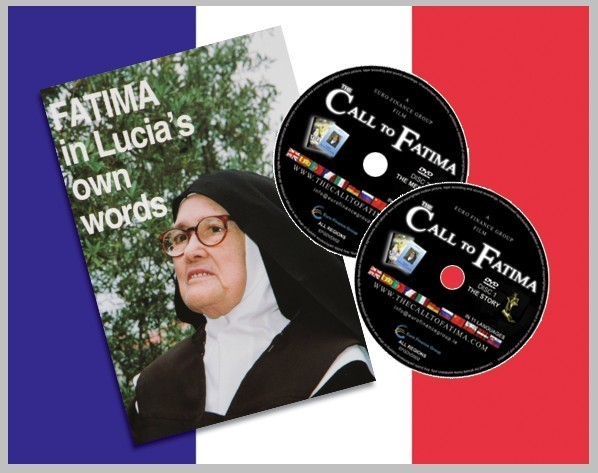"""Fatima in Lucia's own Words"" + 2 DVDs ""The Call to Fatima"" French edition"