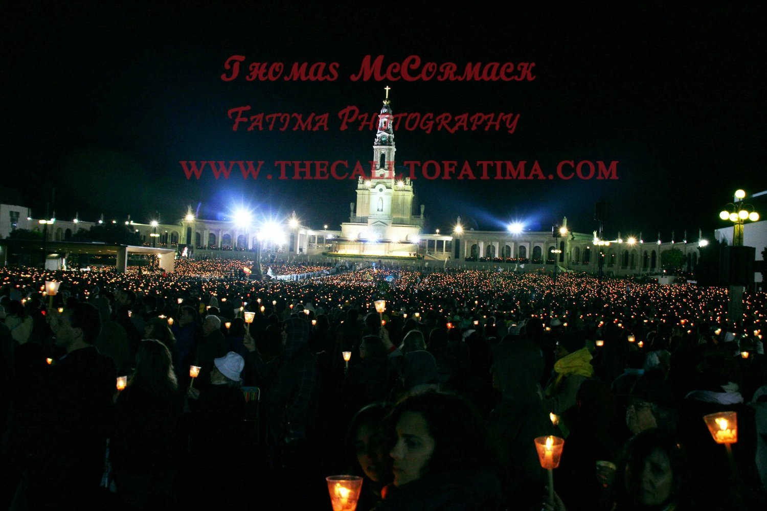 Fatima Shrine photograph A4 print