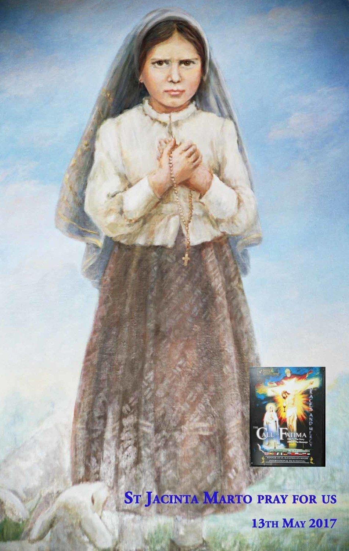 Saint Jacinta Marto A4 Photograph