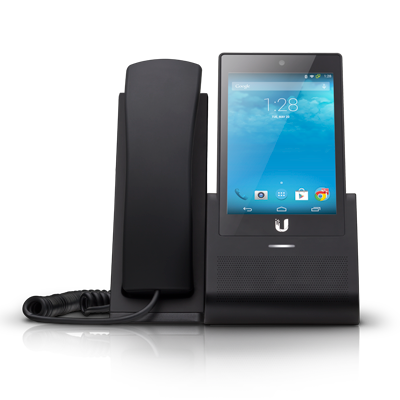 Teléfono IP con pantalla Táctil y Wi-Fi