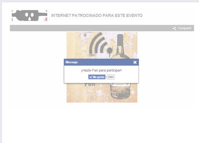 WiFi TAB FACEBOOK