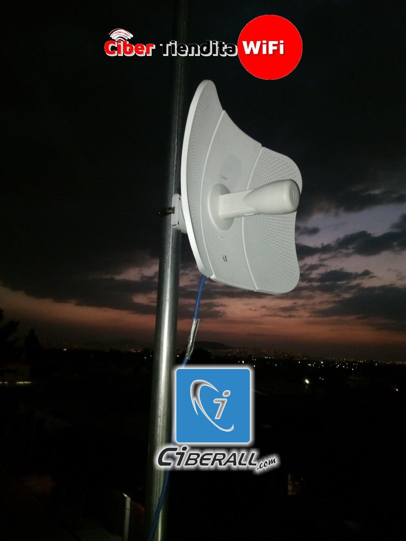 INSTALACIÓN RADIO ENLACE