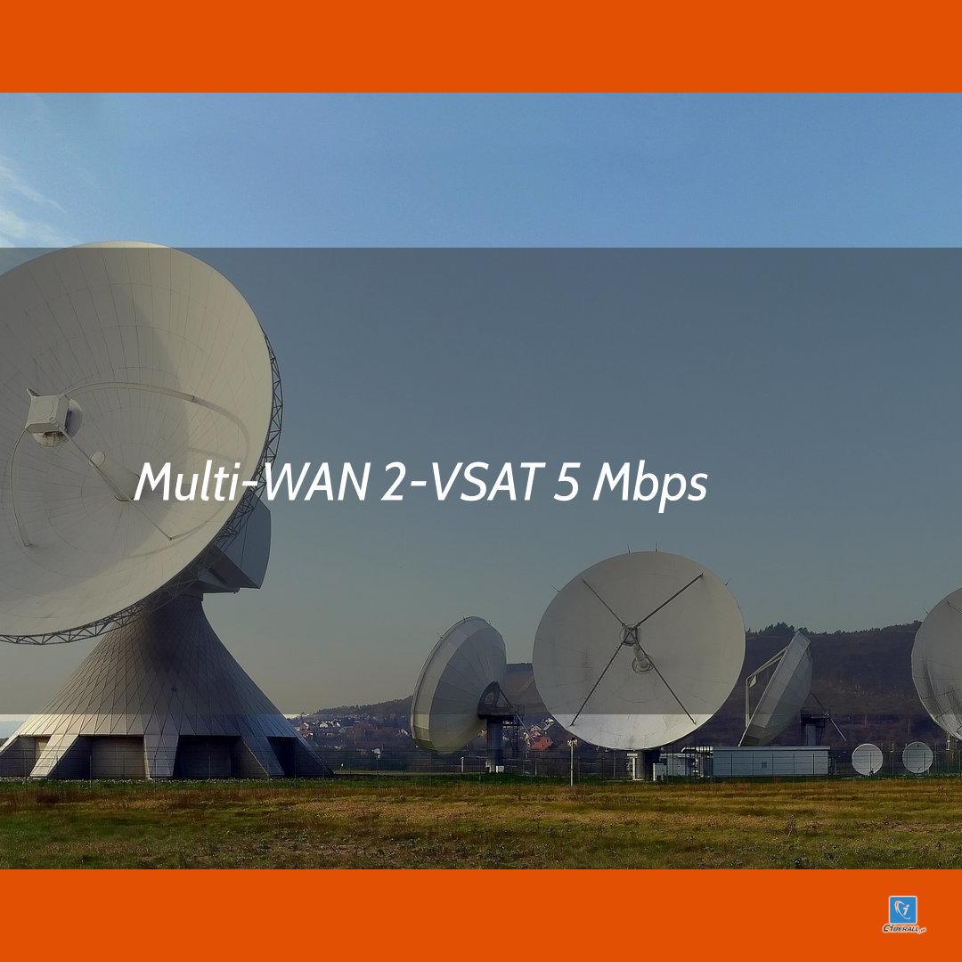 Internet Multiwan 5 Megas Híbrido